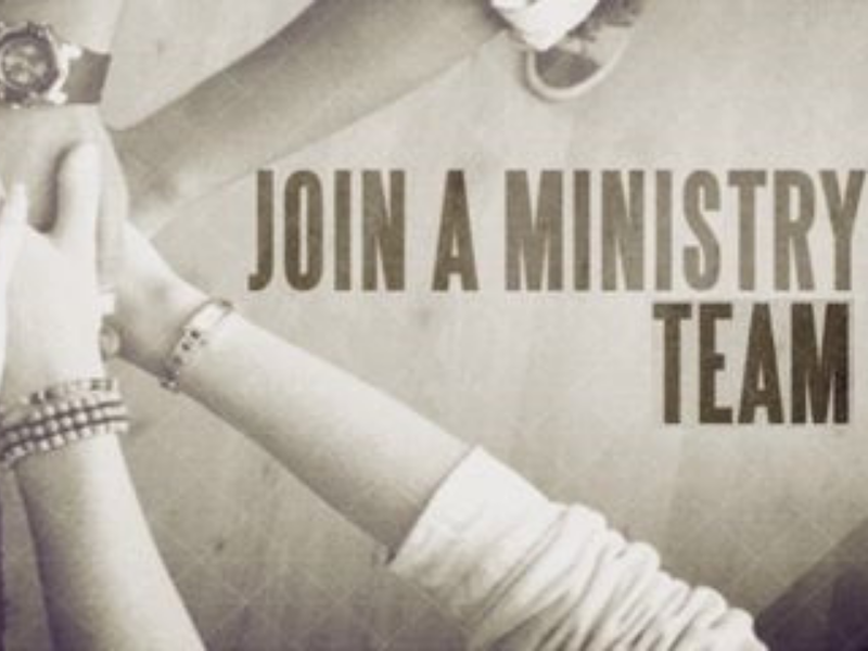 Join A Ministry Team - 800x600